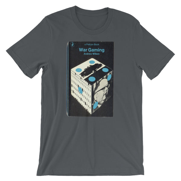 War Gaming Cold War T-shirt 1960s Graphic Book Cover Tee Short-Sleeve Unisex T-Shirt - babbletees
