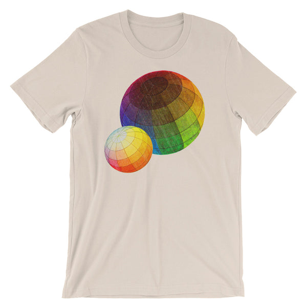 Color Theory T-shirt tan babbletees