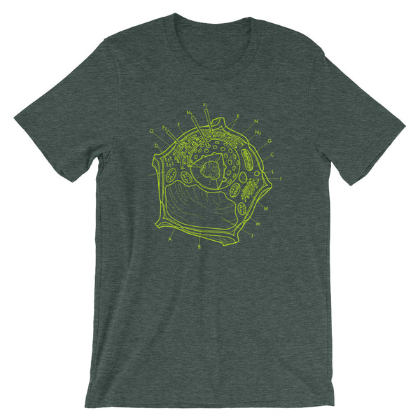 Plant Cell Diagram T-shirt - babbletees