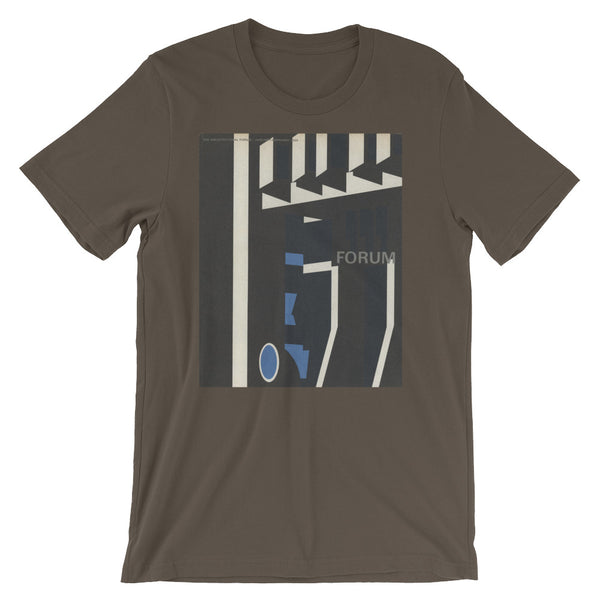 Graphic Design T-shirt FORUM German Midcentury Design Short-Sleeve Unisex T-Shirt - babbletees
