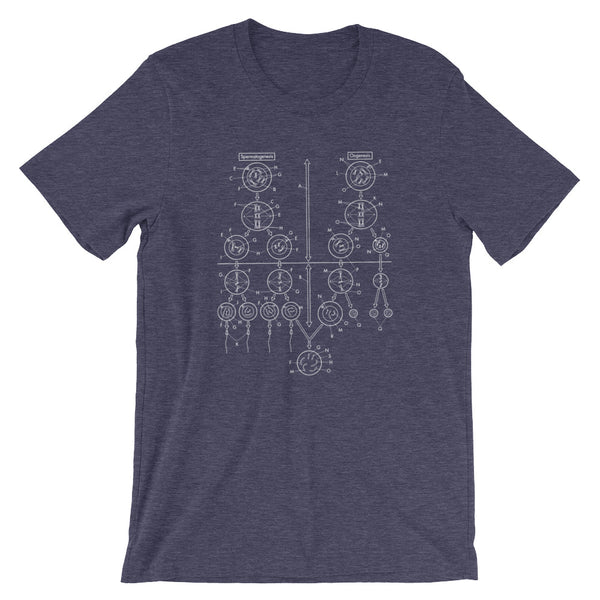 Meiosis T-shirt Sex Science Graphic Tee babbletees blue