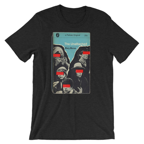 Retro Tshirt design The Unattached Book Cover Tshirt Retro Midcentury Penguin Artwork Science graphic Tee Short-Sleeve Unisex T-Shirt - babbletees