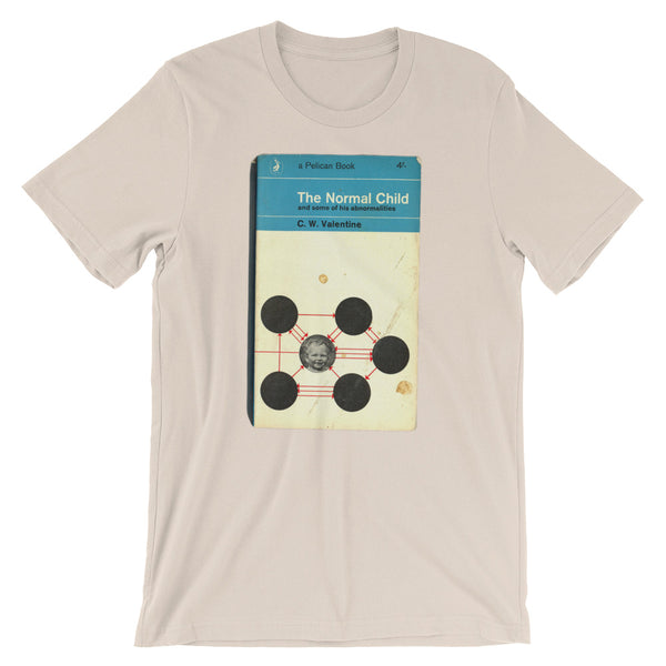 The Normal Child Graphic Tee 1960s Retro Book Cover T-shirtShort-Sleeve Unisex T-Shirt - babbletees