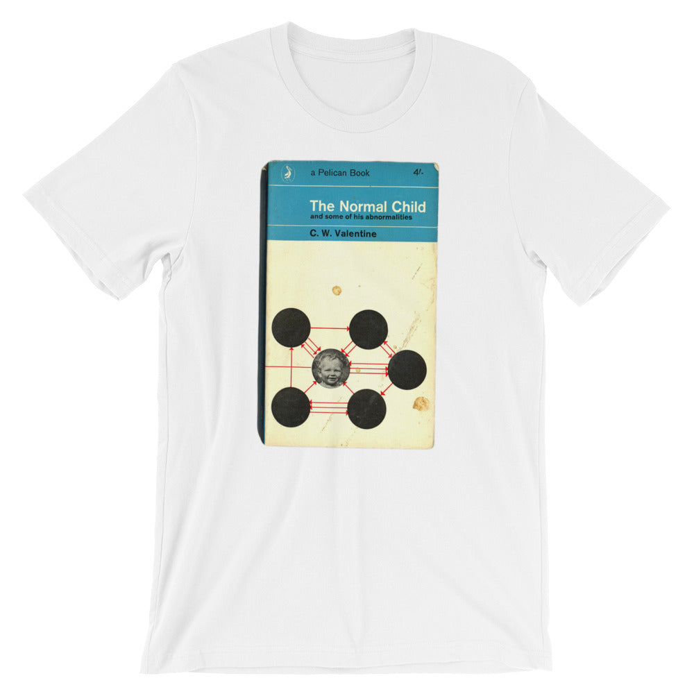The Normal Child Graphic Tee 1960s Retro Book Cover T-shirtShort-Sleeve Unisex T-Shirt