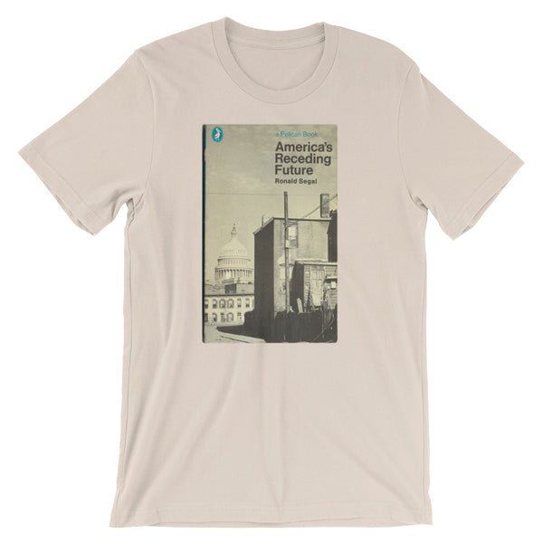 Retro Midcentury Graphic Tee Shirt America's Receding Future Book Cover T-shirt - babbletees