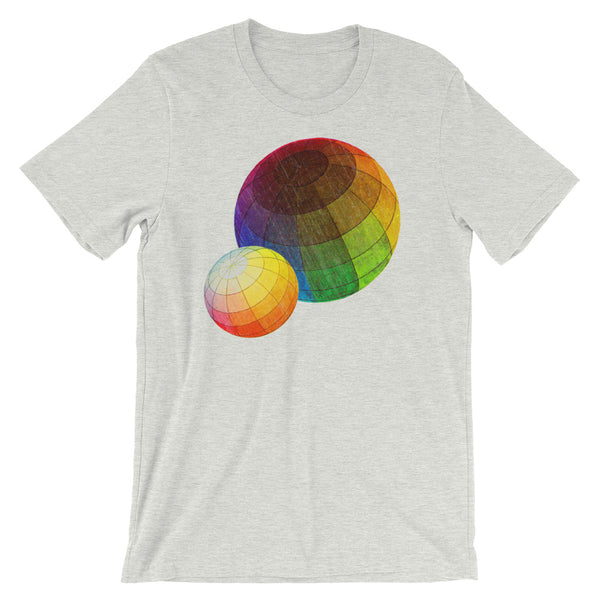 Color Theory T-shirt Vintage Colorful Science Graphic Tee - babbletees