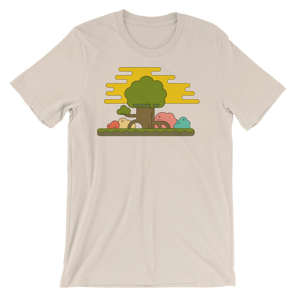 Geometric Trees Short-Sleeve Unisex T-Shirt