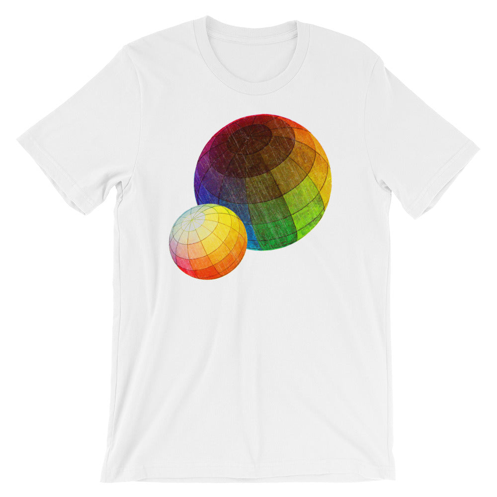 Color Theory T-shirt white Babbletees