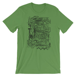 Circuit Board T-shirt Computer Science Graphic Tee Geek Gift - babbletees