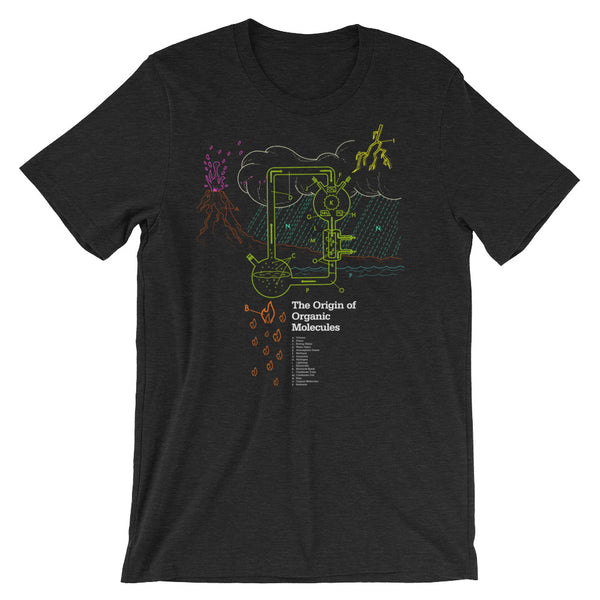 Organic Molecule T-shirt Chemistry Science Geek Graphic Teeshirt