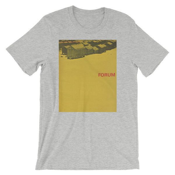 Yellow Retro German Graphic Tee Short-Sleeve Unisex T-Shirt - babbletees