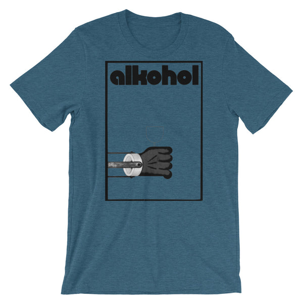 Alkohol T-shirt Retro Bauhaus German Alcohol Graphic Tee - babbletees