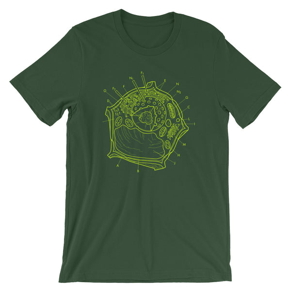 Plant Cell Diagram T-shirt by babbletees