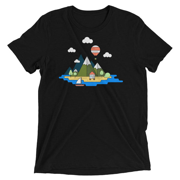 99 luftballoons Flying Balloon Geometric Graphic Tee Shirt - babbletees