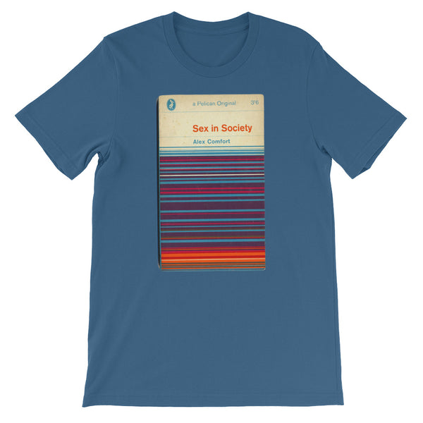 Retro Sex in Society T-shirt Retro Book Graphic Tee - babbletees