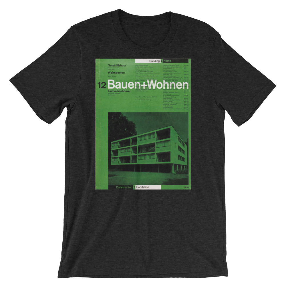 BAUHAUS Tee Shirt Retro German Graphic Design Unisex T-Shirt - babbletees