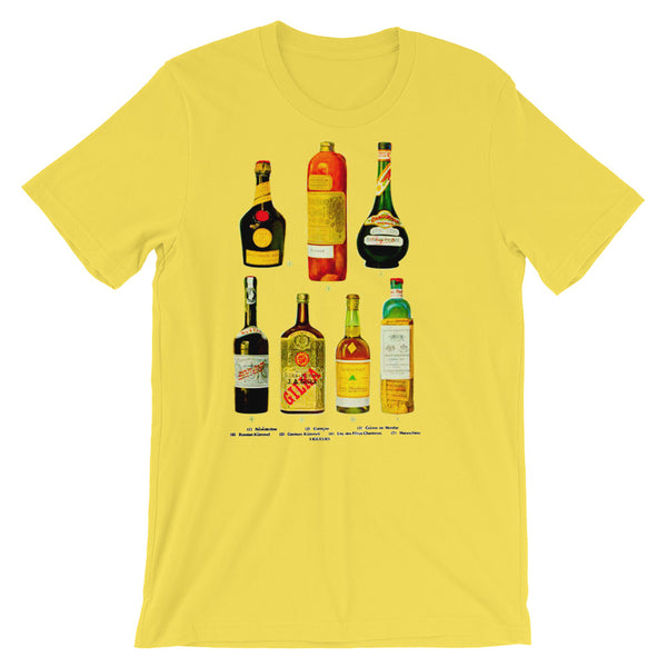 Vintage Liquor T-Shirt Whiskey Vodka Booze Drinking Tee - babbletees