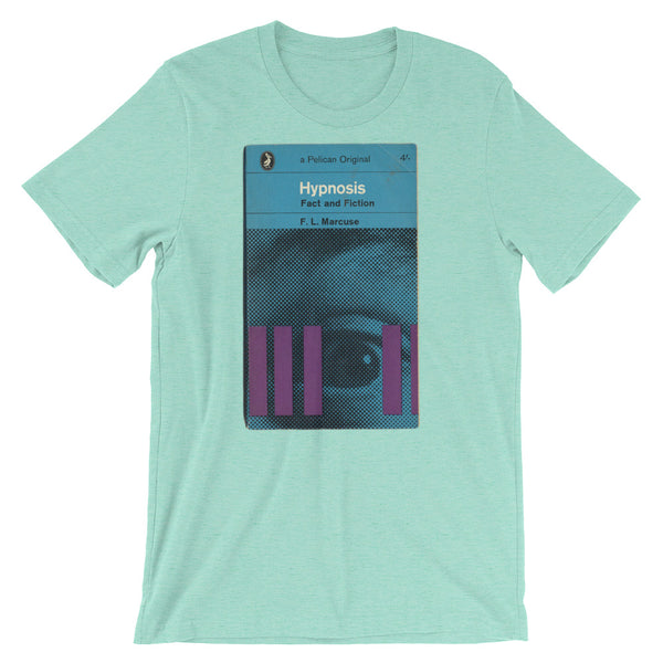 Hypnosis Science Tshirt 1960s Mid-Century Book Artistic Graphic Tee Short-Sleeve Unisex T-Shirt