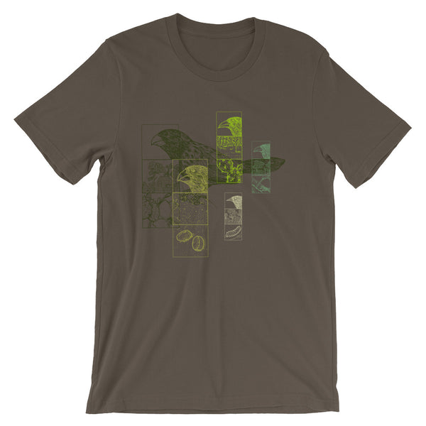 Darwin Finches Tshirt Bird Evolution Science Graphic Tee Charles Darwin's Original Bird Drawings - babbletees