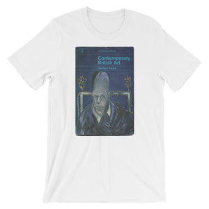 Francis Bacon Tshirt Contemporary British Book Cover Art Tee Modern Art Tee Short-Sleeve Unisex T-Shirt - babbletees