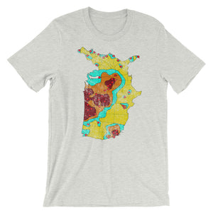 1960's Nuclear Target Map Shirt