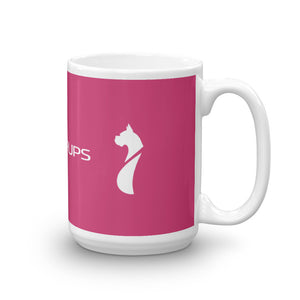 SubiePups Pink - 15 oz Coffee Mug