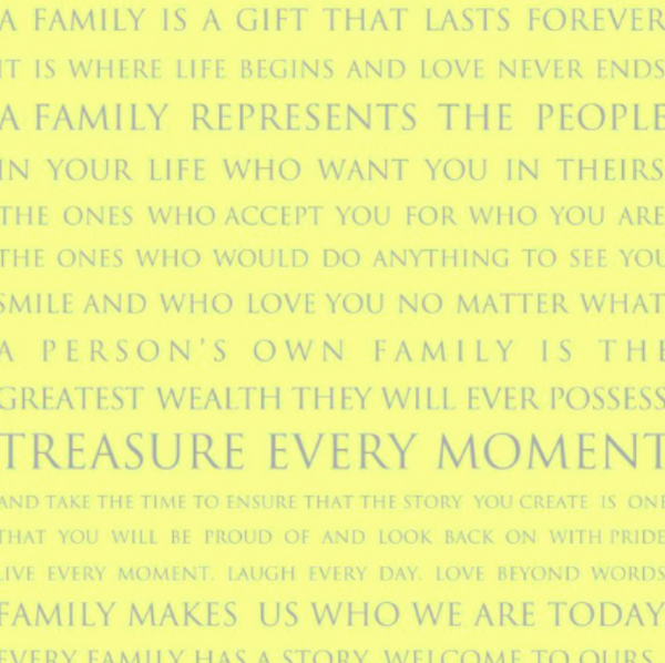FAMILY IS A GIFT PRINT