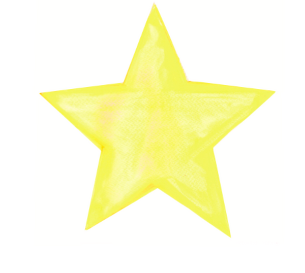 WATER COLOUR STAR