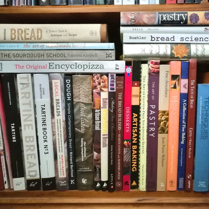 Where to look for a new baking book!