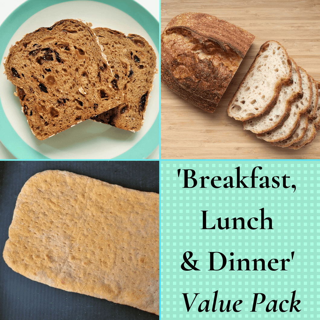 'Breakfast, Lunch & Dinner' Value Pack