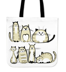 Funny Cat III Cloth Tote Bag