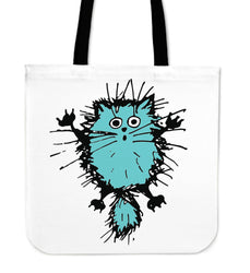 Fuzzy Cat IV Cloth Tote Bag