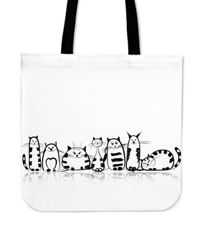 Funny Cat I Cloth Tote Bag