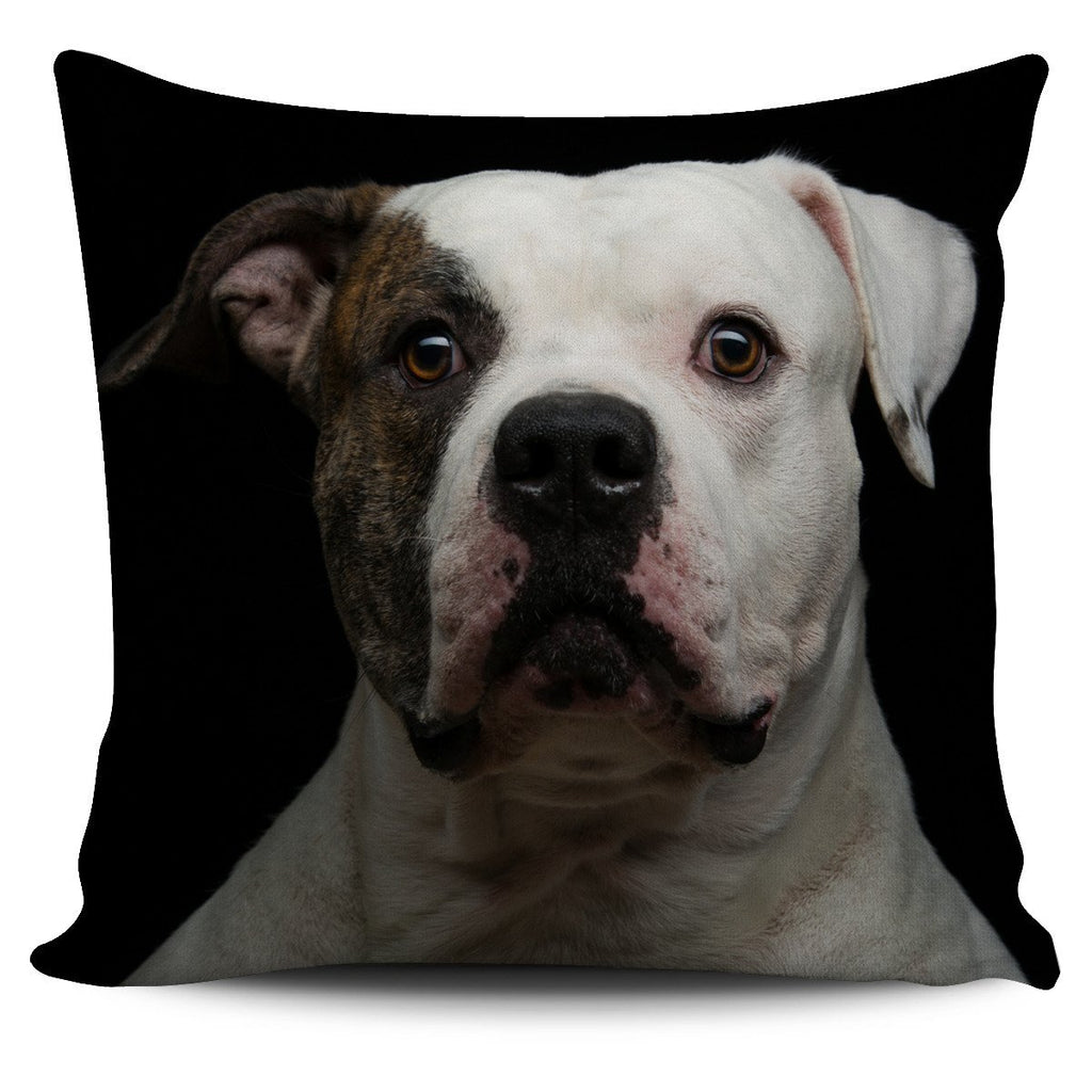 American Bulldog Pillow Cover - WearItArt - Pillow Covers