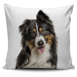 "Australian Shepherd ""Aussie"" Pillow Cover - WearItArt - Pillow Covers"