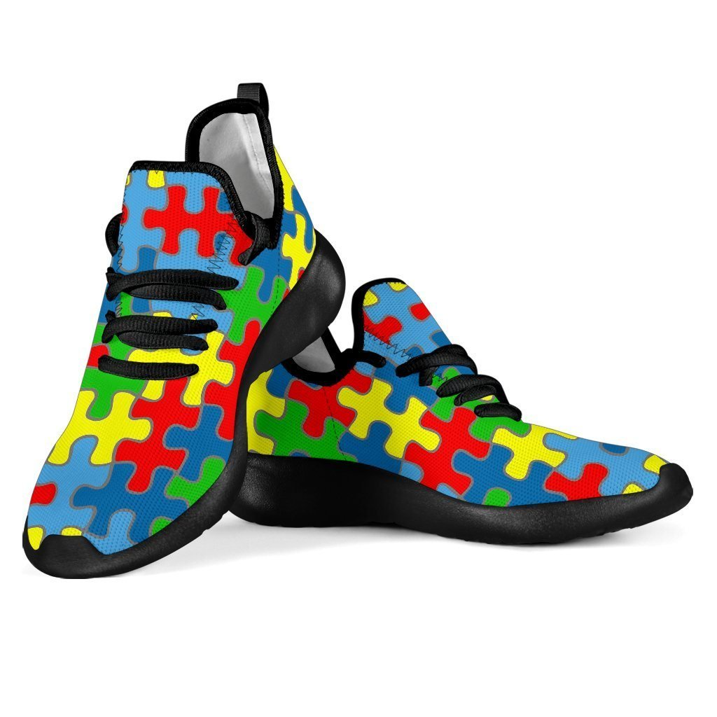 Autism Mesh Knit Sneakers - WearItArt - shoes