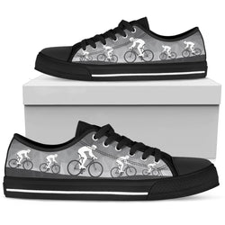 Bicycle Women's Low Top Shoe - WearItArt - shoes