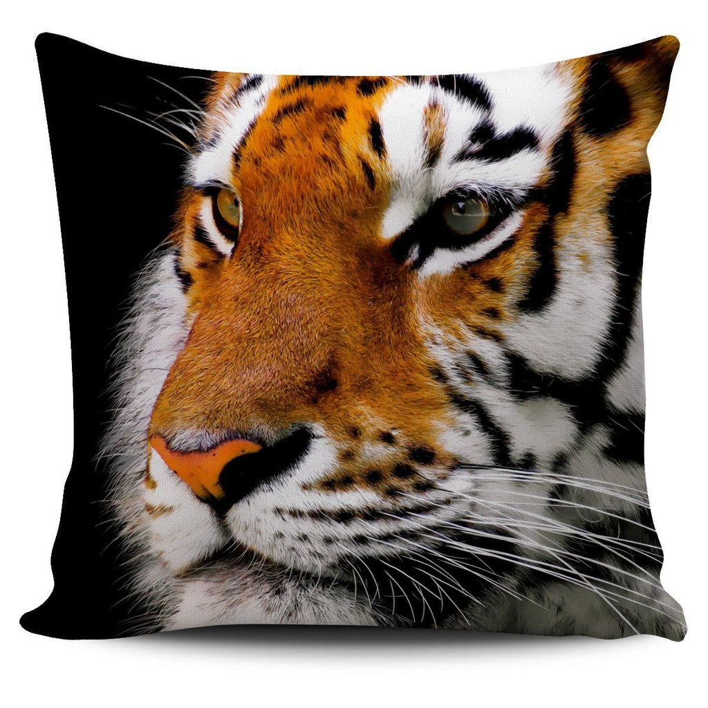 Big Cats Pillow Covers (Tiger Stare) - WearItArt - Pillow Covers