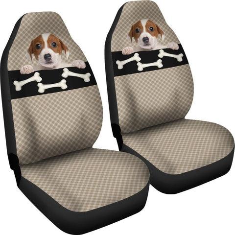 Bone & Puppy Car Seat Cover - WearItArt - Seat Cover