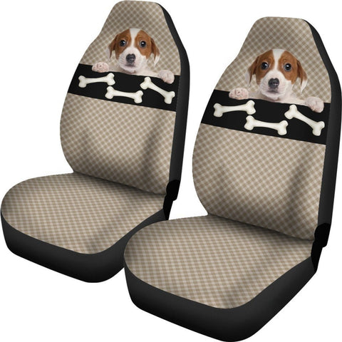 Image of Bone & Puppy Car Seat Cover - WearItArt - Seat Cover