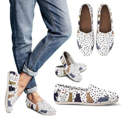 Cats & Paws Women's Casual Shoes - WearItArt - Casual Shoes