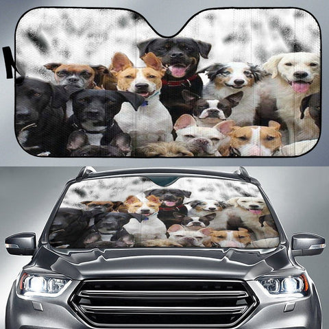 Cute Bunch Auto Sun Shade - WearItArt - Sun Shade