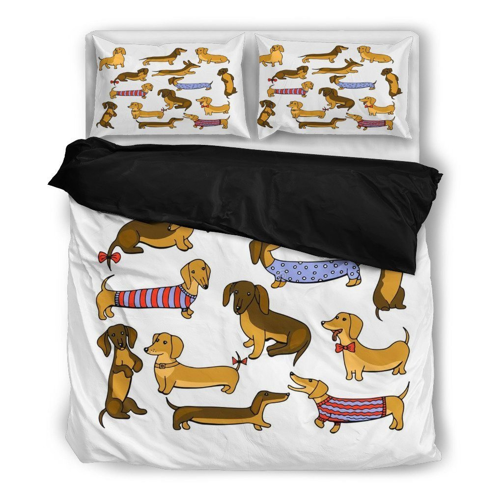 Dachshunds Duvet Bedding Sets - WearItArt - Bedding Set