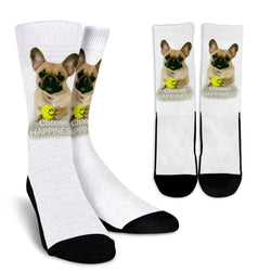 French Bulldog Crew Socks - WearItArt - Socks