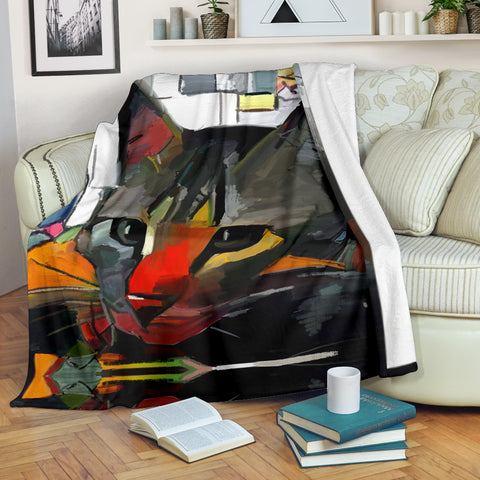 Art Cat II Blanket