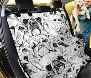 Bull Dog Pet Seat Cover