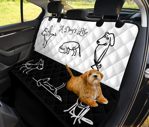 Image of A DOG'S LIFE PET SEAT COVER