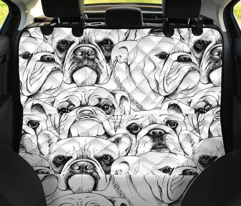 Image of Bull Dog Pet Seat Cover