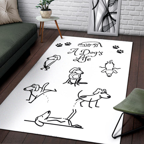 Image of A DOG'S LIFE RUG