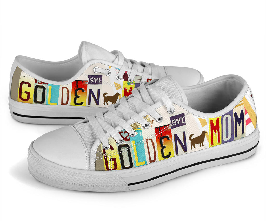 Golden Mom Low Top Shoes